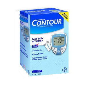 Bayer Corp 567151 Ascensia Contour Blood Glucose Monitori...