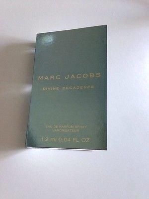 Amazon.com : Marc Jacobs Divine Decadence Perfume Carded Sample ...