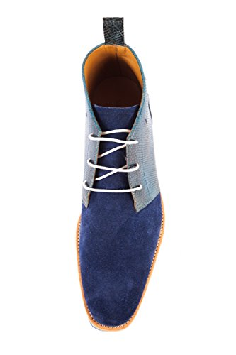 Blu Blau MH15 Scarpe Uomo EU Melvin 618 41 amp; Stringate Hamilton pqWEw8