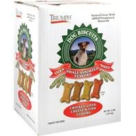 Biscuits 4lb Box (TRIUMPH PET 736178 Small Assorted Biscuits for Dogs, 4-Pound)