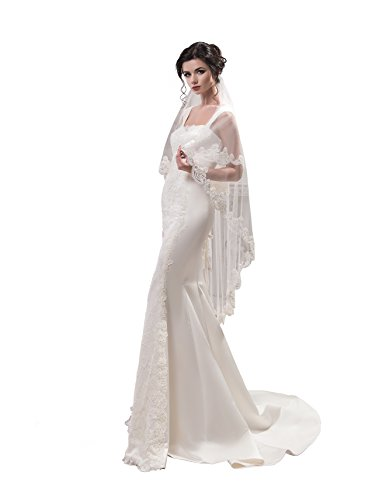 Bridal Marilyn Fiona from NYC Bride collection (short 30'', ivory) by NYC Bride