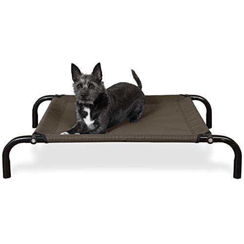 Furhaven - Orthopedic Foam Living Room Sofa-Style Dog Bed & Elevated Cot Bed - Available in Multiple Colors & Styles