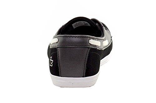 Lacoste Kvinnor Ziane Däcket 116 En Mode Gymnastiksko Svart Mocka / Läder