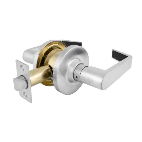Master Lock SLCD Commercial Passage Lever Set Satin Chrome - Commercial bathroom door handle