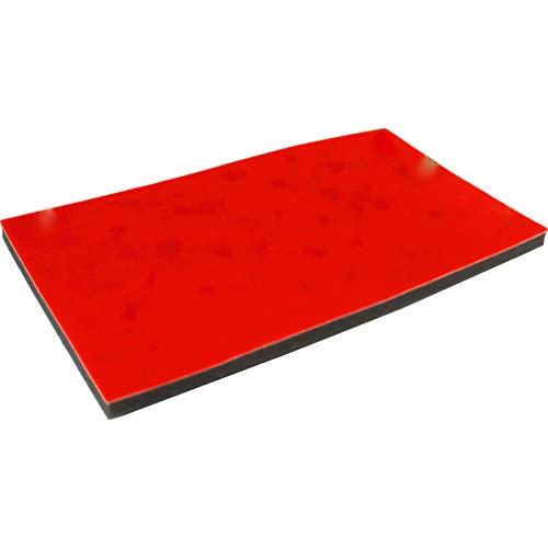 72 Slot Ring Tray Foam Insert Red 14 1/4