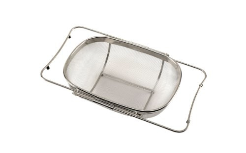 UPC 076753124867, Good Cook Colander, Expandable Stainless Steel