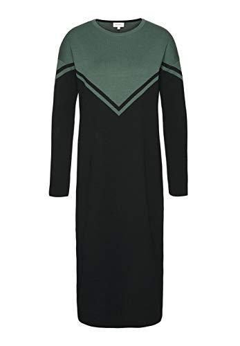 Bio CERES mallard 08 Colorblock armedangels Baumwolle aus Organic Damen Melisa Black Strickkleid GOTS Green qwxAt1xZz