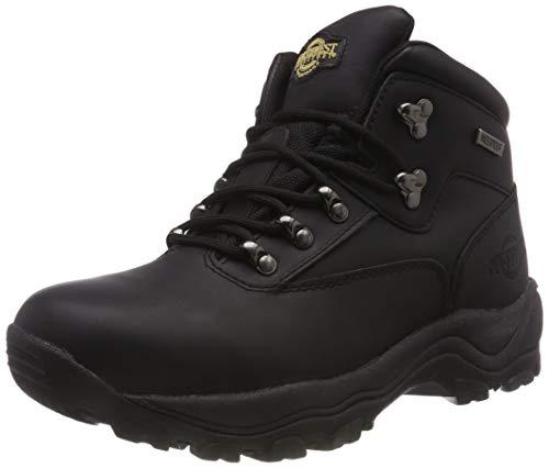 MENS INUVIK FULLY WATERPROOF LACE UP WALKING/HIKING TREKKING BOOT BLACK 8