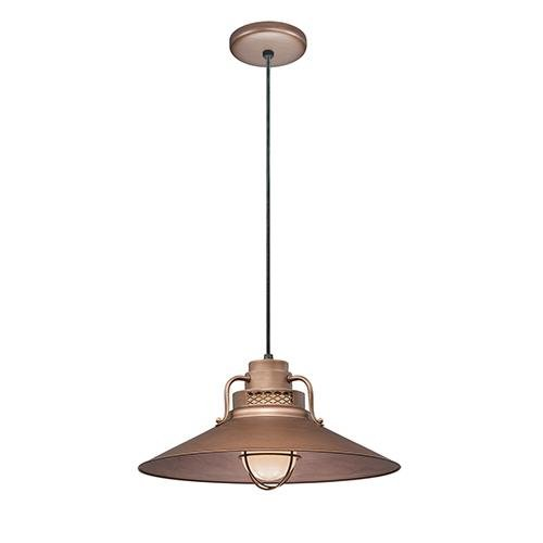 Millennium RRRC18-CP One Light Pendant Copper