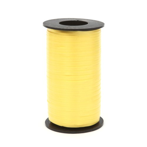 Price comparison product image Berwick Splendorette Crimped Curling Ribbon,  3 / 16-Inch Wide by 500-Yard Spool,  Yellow