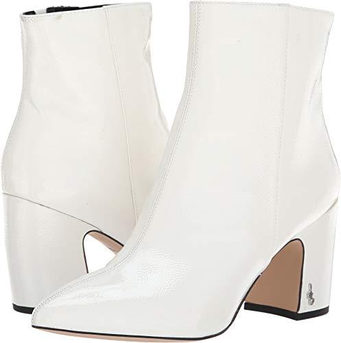 Sam Edelman Women's Hilty 2 Fashion Boot, Bright White Patent, 8 M US for $<!--$107.20-->