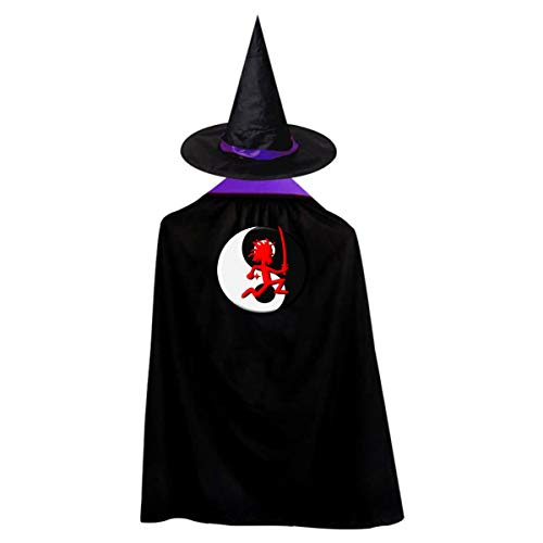 Ninja Hatchet Man Halloween Costumes Witch Wizard Kids Cloak Cape For Children Boys Girls -