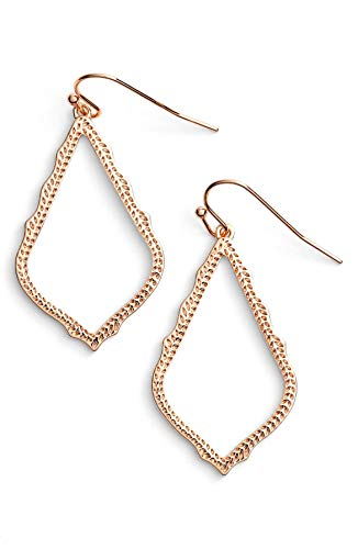 Kendra Scott Signature Sophia Drop Earrings - Rose Gold