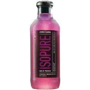 Natures Best Isopure - Isopure RTD Zero Carb Grape, , 12 drinks