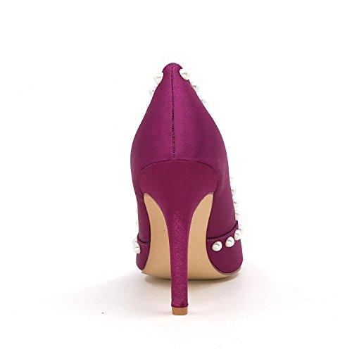 L@YC Frauen High Heels Spitz Hochzeit Schuhe Custom Big Yards Haben mehr verfügbare Farben Weiß