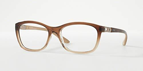 1f899ddd09c90 Óculos de Grau Grazi Massafera GZ3001B D137 Marrom Translúcido Degradê Com  Cristais Da SWAROVSKI Lente Tam
