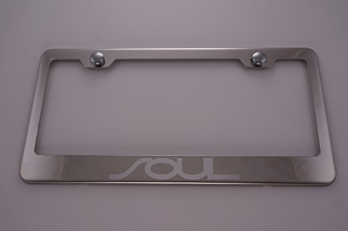 Compare Price Kia Soul License Plate Frame On