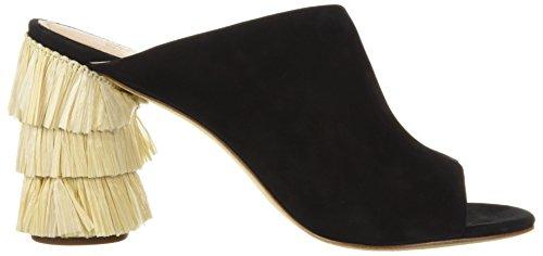 Pour La Victoire Women's Hettie Heeled Sandal Black OHtN9U9bq