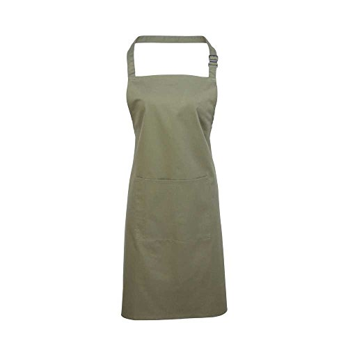 Premier Workwear Colours Bib Apron with Pocket, Top Donna salvia
