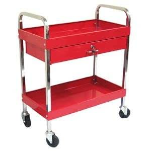 metal storage cart excel 2 tray rolling metal tool cart smooth 23289