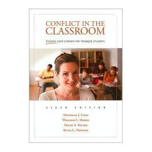 Read Online Conflict in the Classroom: Positive Staff Support for Troubled Students PDF