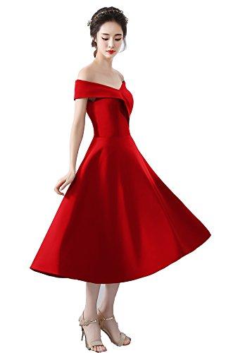 Vino Rosso Abito Corlink Di Rosso L'abito Donne Promenade Per Sera Delle Colture Cocktail Breve Da Delle Ragazzi 8qAaw8r