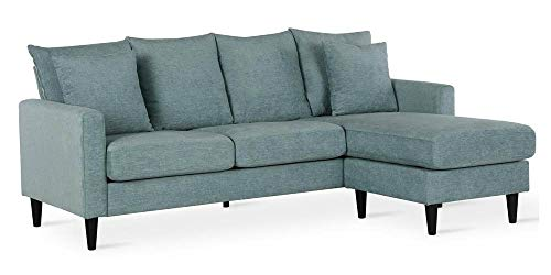 FlexLiving sofa, Teal (Teal Sectional Couch)