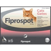 fiprospot para gatos (Tamaño: 3 X 0,5 ml pipetas)