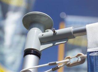 Teleskop fahnenmast m garten fahnenmasten günstig kaufen ebay