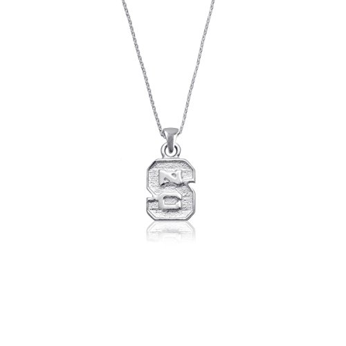 - NC State University Wolfpack NCSU Sterling Silver Jewelry by Dayna Designs (Pendant Necklace)