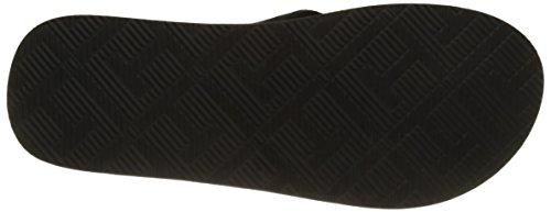 Black Black Midnight Jacquard Th Blue Flops Flip Leather Men's Beach Tommy Sandal Hilfiger 990 qUSxxHP