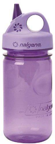Nalgene Tritan Grip-N-Gulp BPA-Free Water Bottle, Size 11 - 15 oz