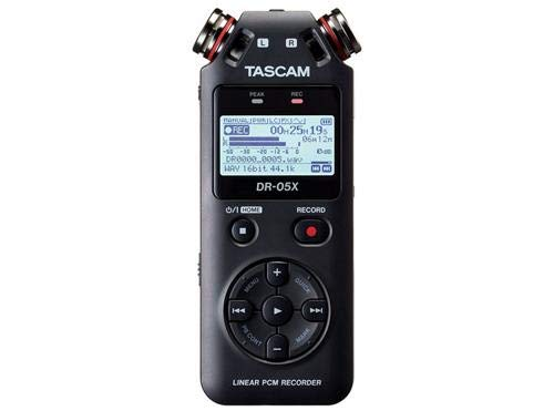 Tascam DR-05X Stereo Handheld Digital Audio Recorder and USB