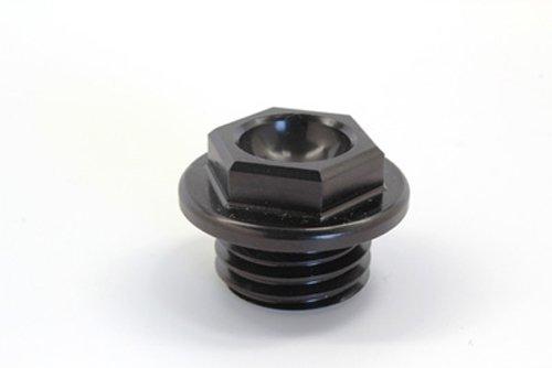 Works Connection Oil Filler Plug - Black