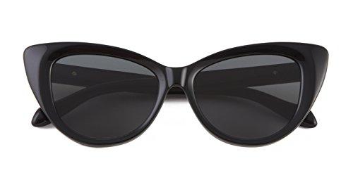 Sonix Women's Kyoto Sunglasses, Black/Black Fade, One - Eyewear Kyoto