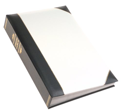 Pioneer Photo Albums Pioneer Ledger Bi-Directional Le Memo Album, White