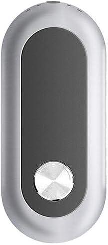 Purificador de Aire, Ion Negativo de Uso portátil, Interfaz USB, Adecuado para Ancianos, niños, Mujeres Embarazadas y alérgicas,Gray: Amazon.es: Hogar