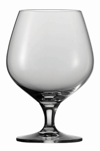 Schott Zwiesel Tritan Crystal Glass Mondial Stemware Collection Brandy Snifter Cocktail Glass, 17.3-Ounce, Set of 6