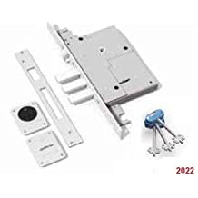 SECUREMME 2022 (Italy)/ 4-Motion High Security Lock/3-Point Locking (Nickel finished)