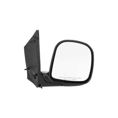 Make Auto Parts Manufacturing - Right Side Mirror For Chevy 96-02 Express 1500 2500 3500, Manual Folding, RH Outside View, Passenger Side Exterior Mirror GM1321245