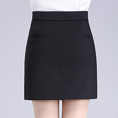 Crayon FS3106 Taille Jupe Girl E Haute Grande Mini Taille Bodycon Club Noir q57taFaU