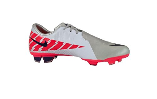 Price comparison product image Nike JR Mercurial Glide II FG Boys Soccer Shoes in Granite/ImperialPurple/White/S sz:5