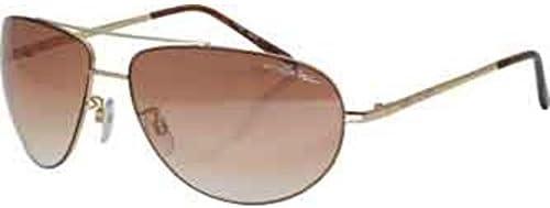 BLOC HURRICANE F134 Mens//Womens Metal Sunglasses GOLD BROWN GRADUATED CAT.3