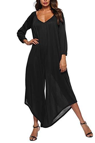 de Combinaisons Pantalons dcontracts Noir Combinaisons dcontracts Pantalons de 6qxFE57Ew