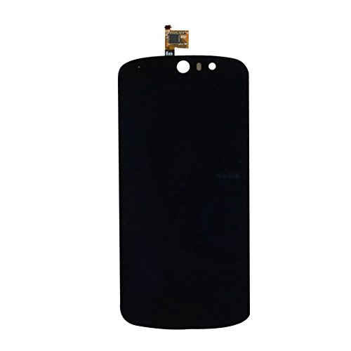 Best Shopper - Replacement LCD with Digitizer Touch Screen Full Assembly - Black Compatible with Acer Liquid Z530