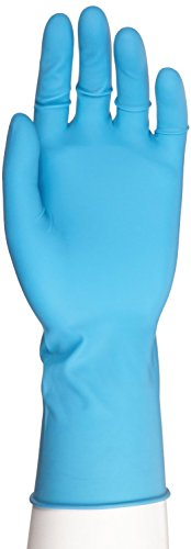 Microflex SafeGrip Latex Glove, Powder Free, Extended Cuff, 11.6'' Length, 11 mils Thick by Microflex