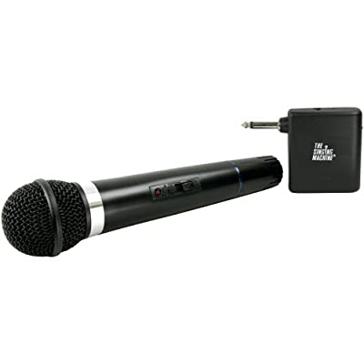 Singing Machine SMM-107 Karaoke Wireless Microphone (Black) from Singing Machine