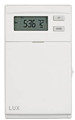 Lux Products ELV4 Programmable Line Voltage Thermostat by Lux