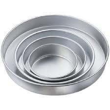 Round Cake Pan Set 5''-7''-9''-11''