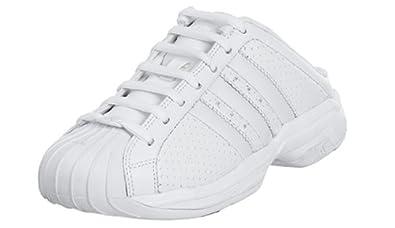 purchase cheap 359fe fab5d Amazon.com   adidas Women's Superstar 2G Mule, Running White ...